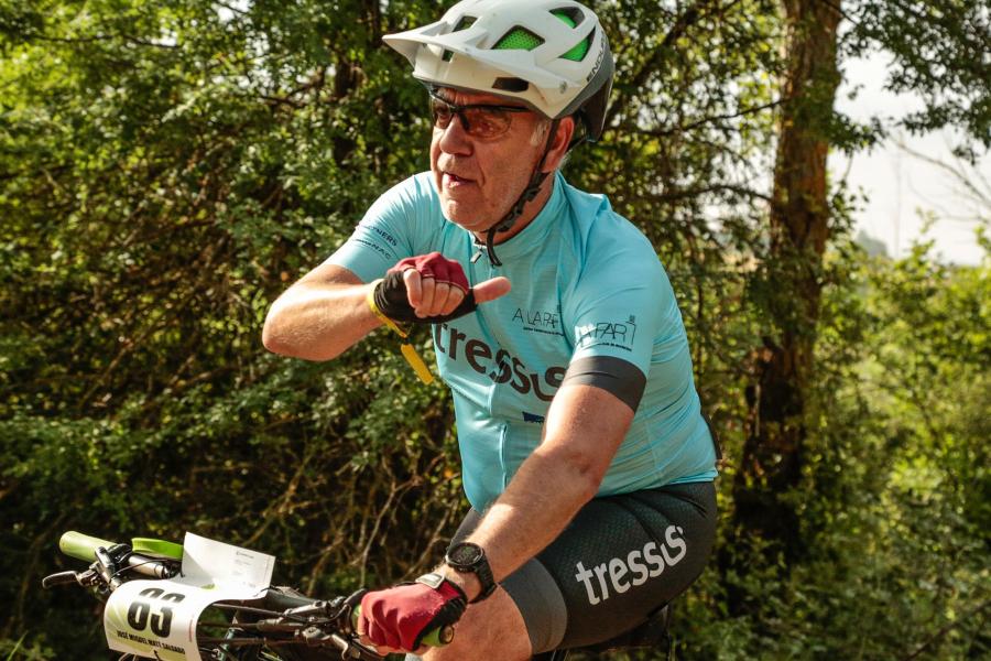 José Miguel Maté bici